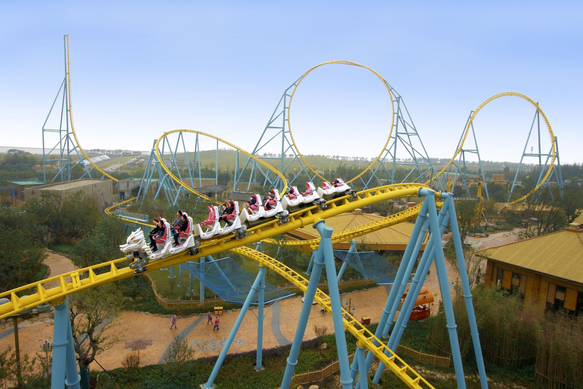 Soaring with Dragon, China - ©Intamin