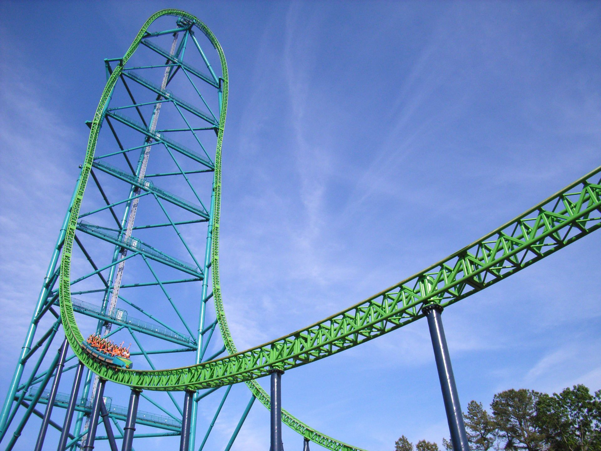 Kingda Ka, USA - ©Intamin